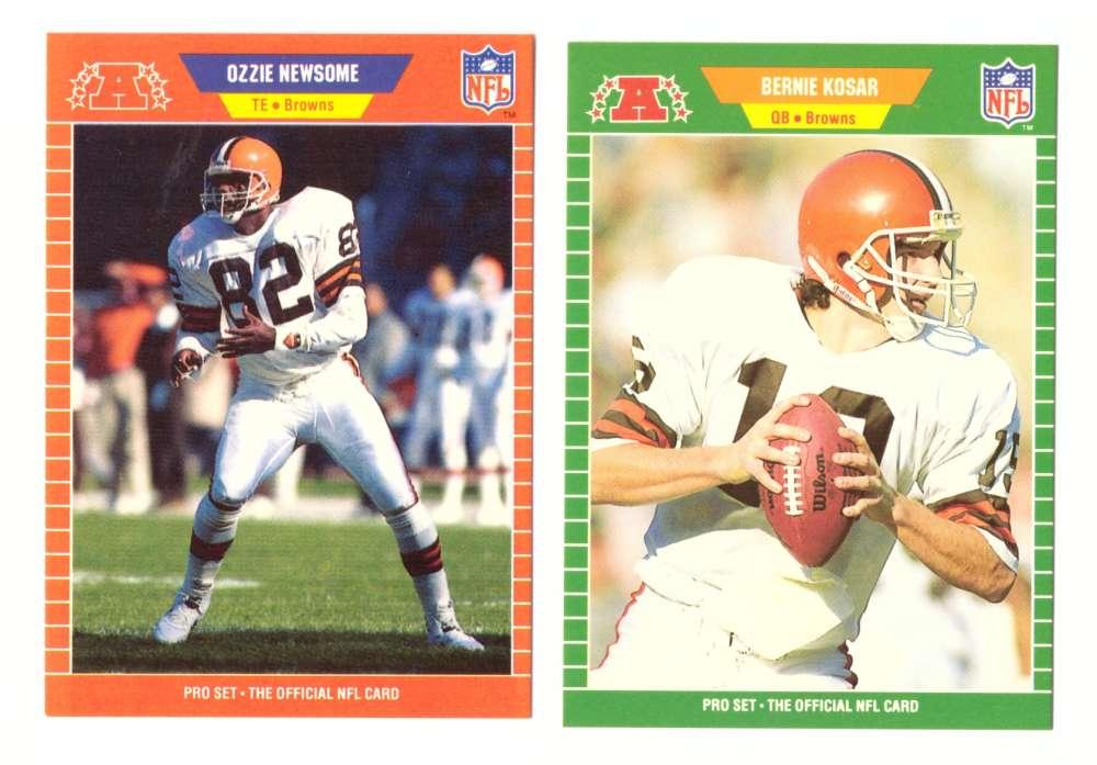 1989 Pro Set Football Team Set - CLEVELAND BROWNS