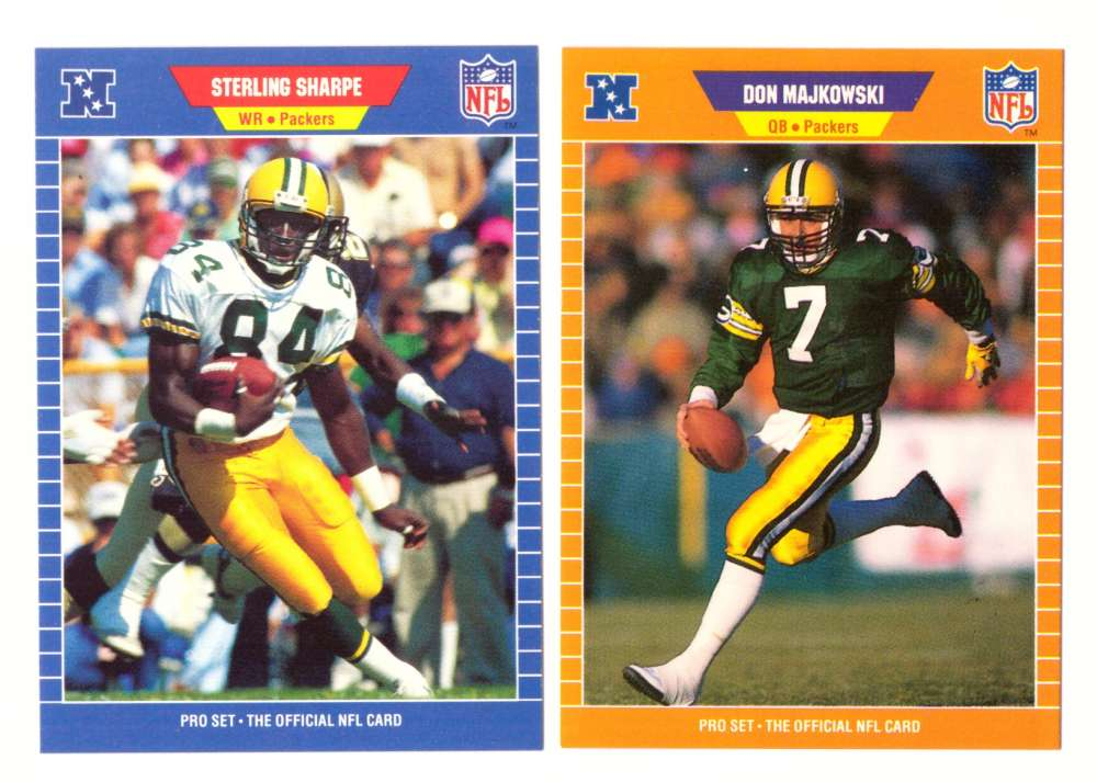 1989 Pro Set Football Team Set - GREEN BAY PACKERS