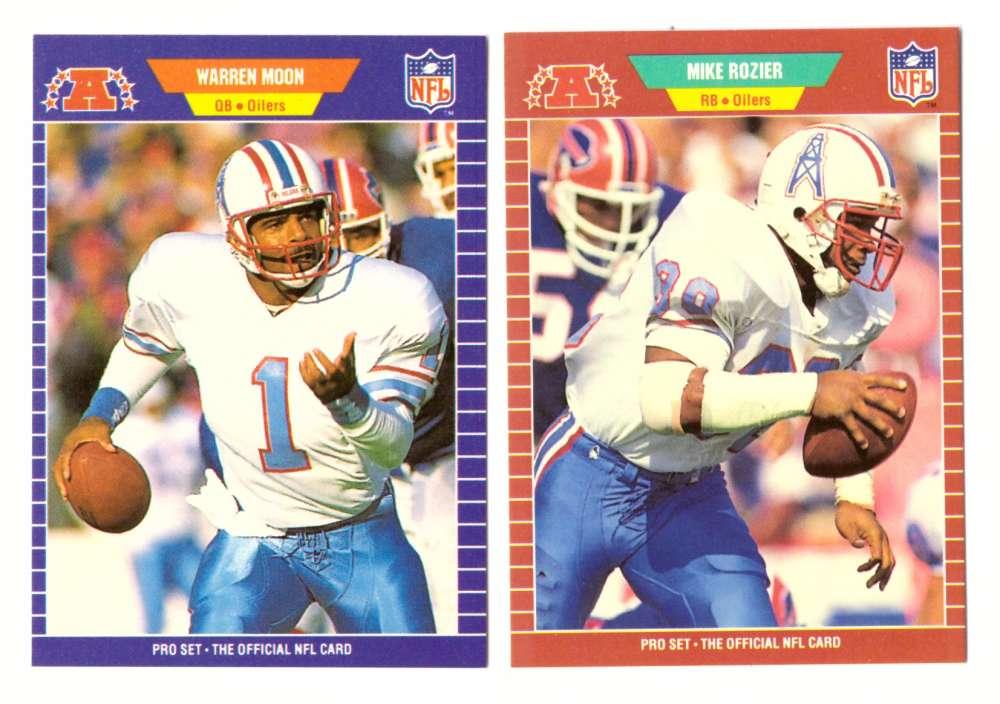 1989 Pro Set Football Team Set - HOUSTON OILERS