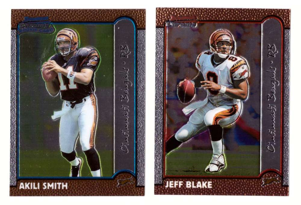 1999 Bowman Chrome Football Team Set - CINCINNATI BENGALS