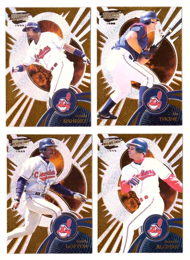 1999 Revolution - CLEVELAND INDIANS Team Set