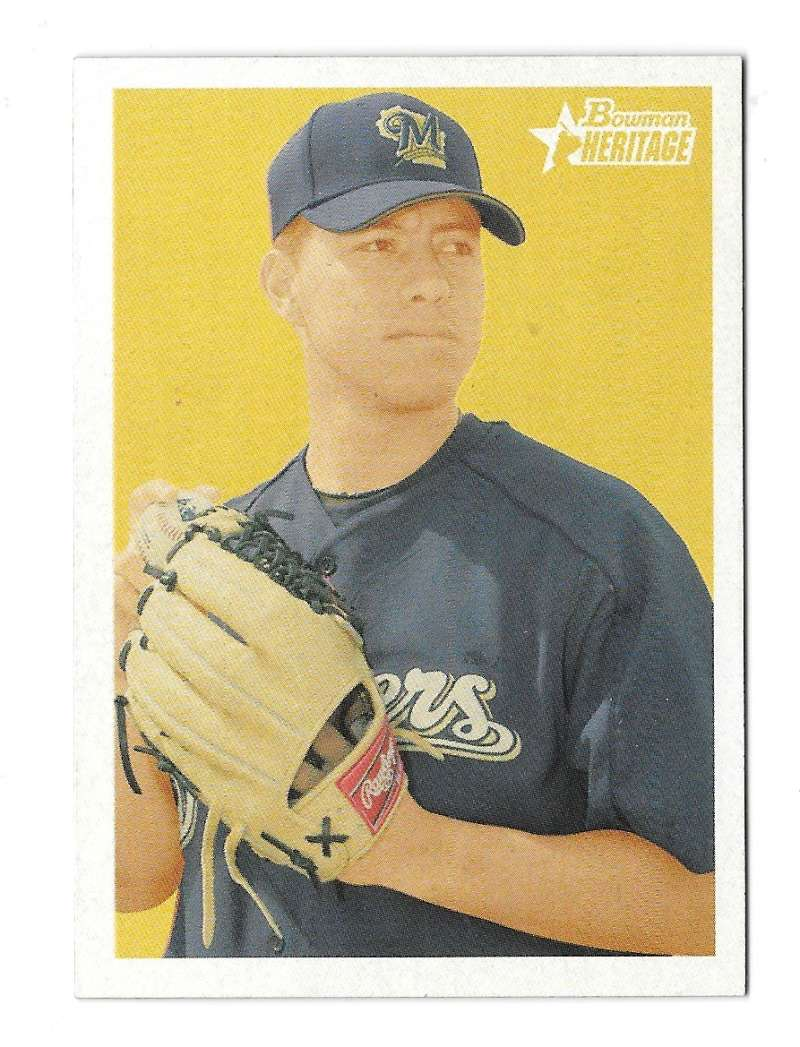 2006 Bowman Heritage Prospects - MILWAUKEE BREWERS