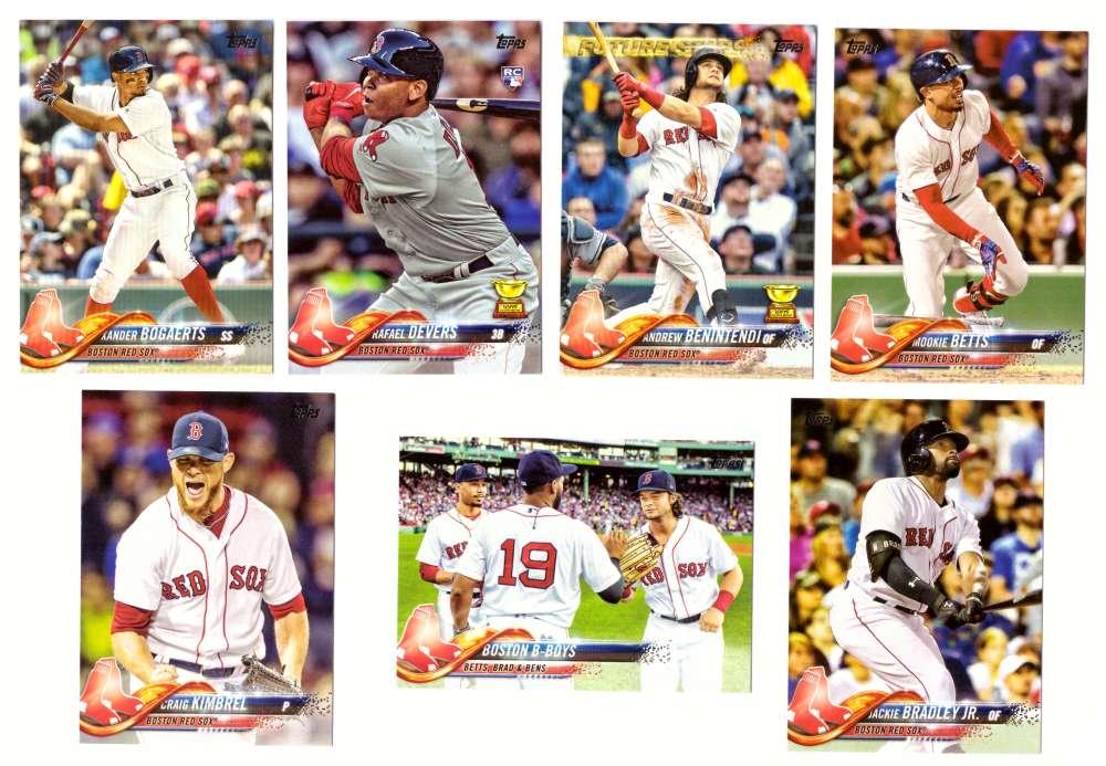 2018 Topps - BOSTON RED SOX Team Set