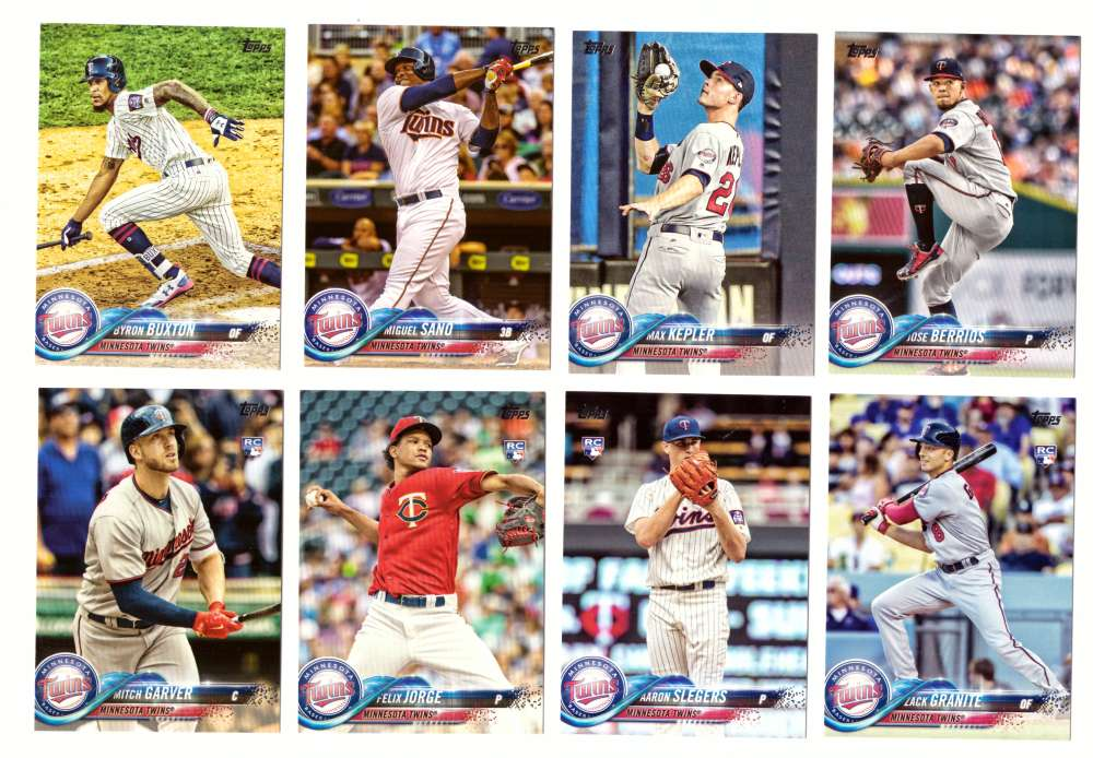 2018 Topps - MINNESOTA TWINS Team Set