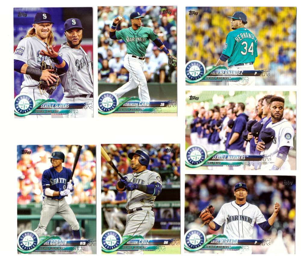 2018 Topps - SEATTLE MARINERS Team Set