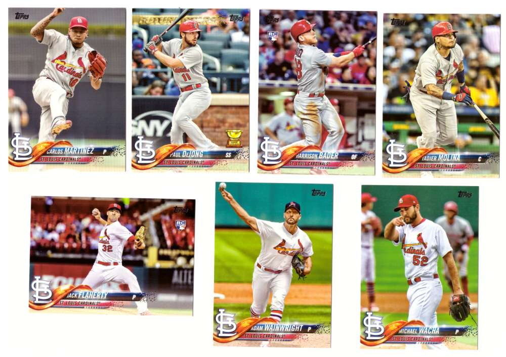 2018 Topps - ST LOUIS CARDINALS Team Set