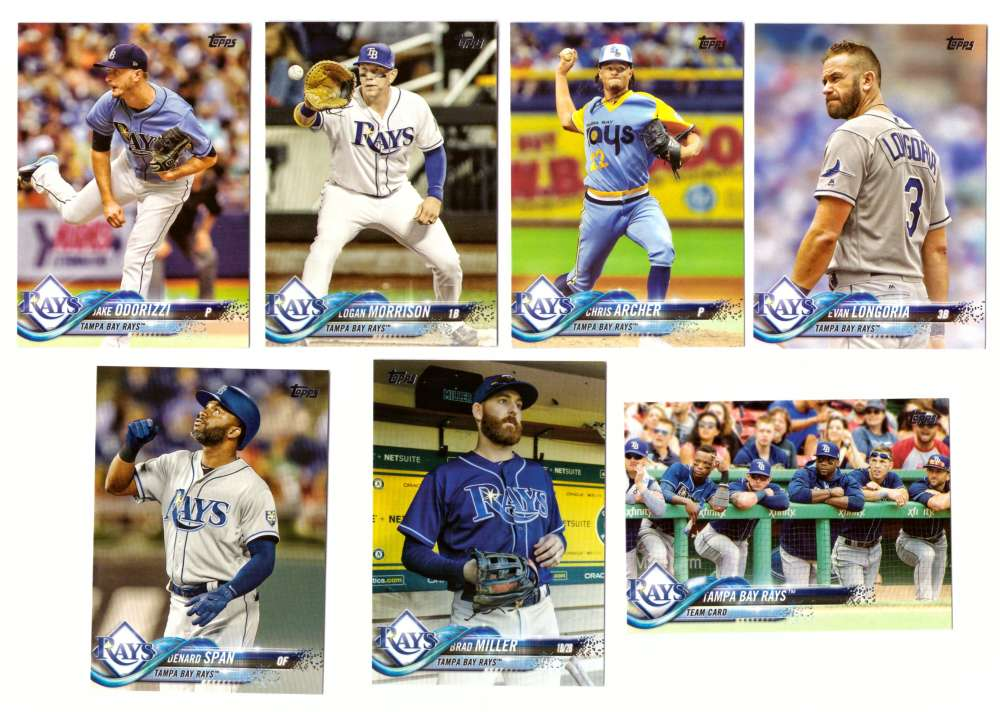 2018 Topps - TAMPA BAY RAYS Team Set