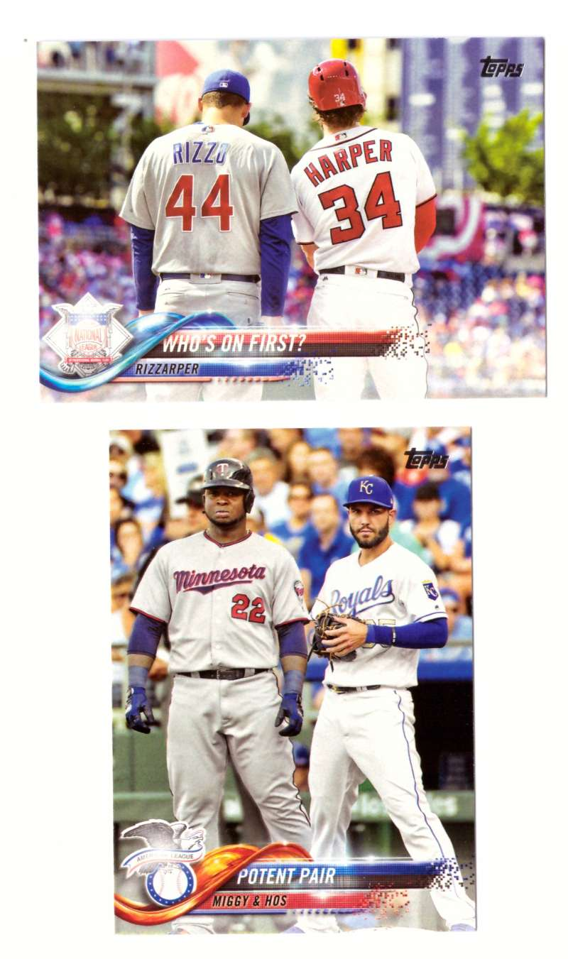 2018 Topps - Multi-player  Combos 2 Cards