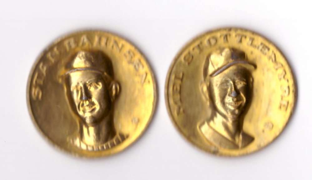 1969 Citgo Coins - NEW YORK YANKEES
