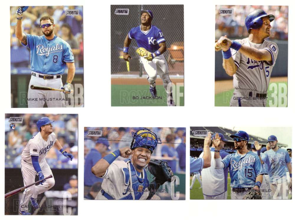 2018 Stadium Club - KANSAS CITY ROYALS Team Set