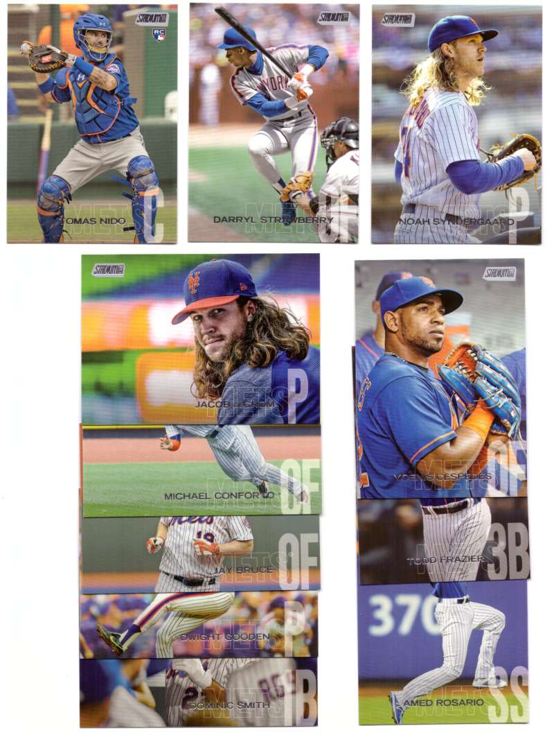 2018 Stadium Club - NEW YORK METS Team Set