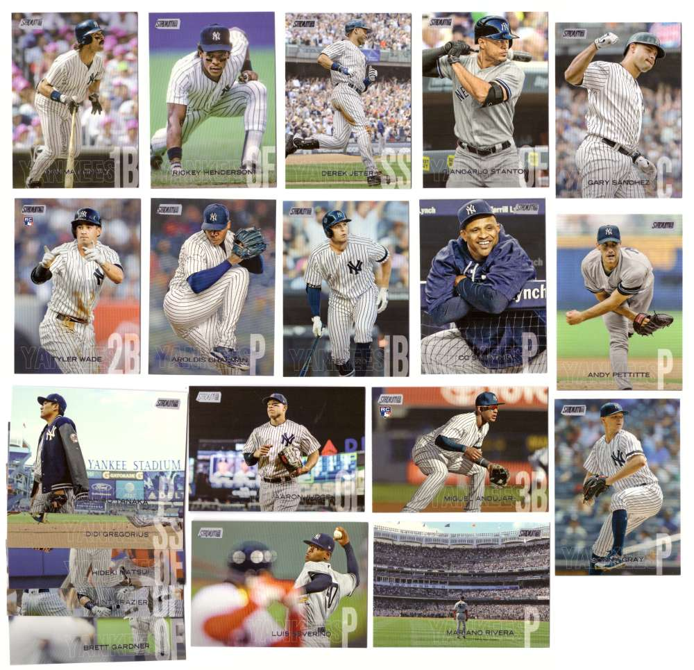 2018 Stadium Club - NEW YORK YANKEES Team Set