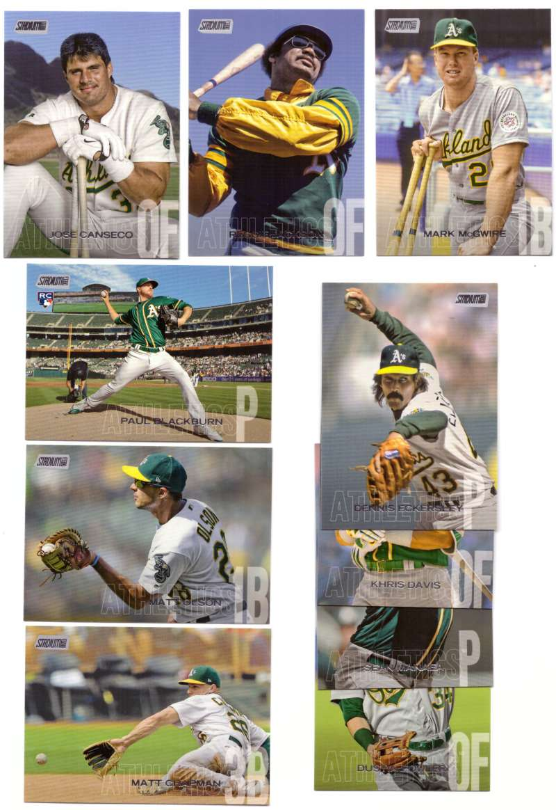 2018 Stadium Club - OAKLAND As Team set