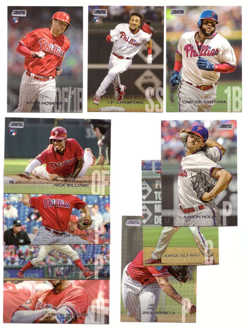 2018 Stadium Club - PHILADELPHIA PHILLIES Team Set