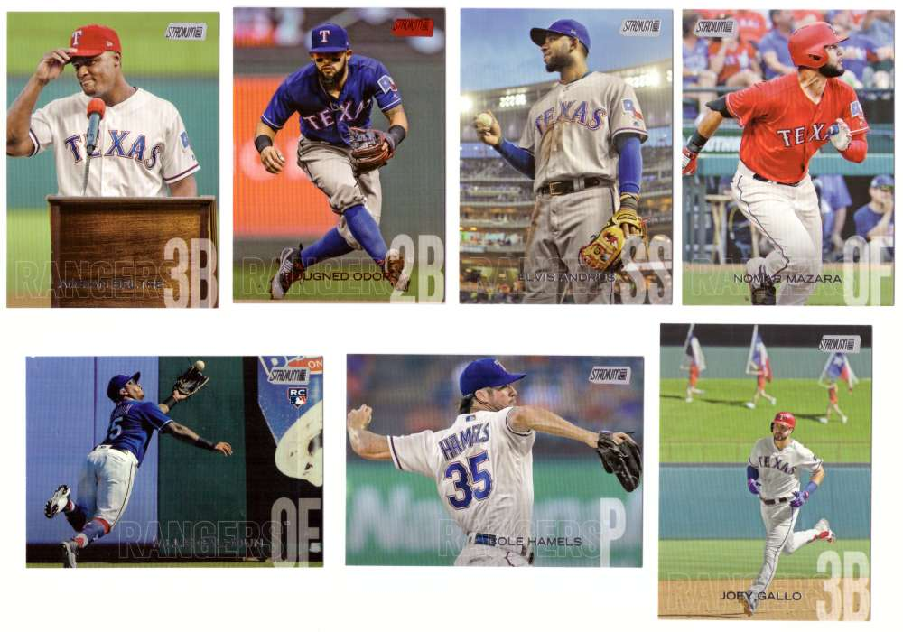 2018 Stadium Club - TEXAS RANGERS Team set