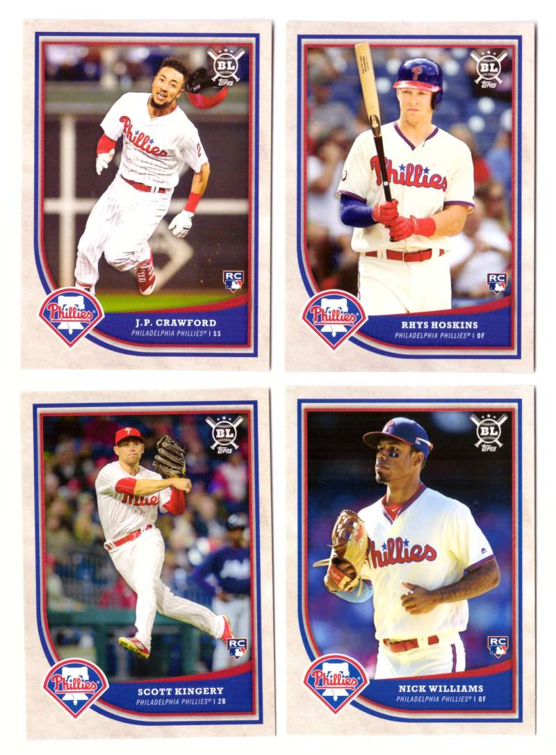 2018 Topps Big League - PHILADELPHIA PHILLIES Team Set