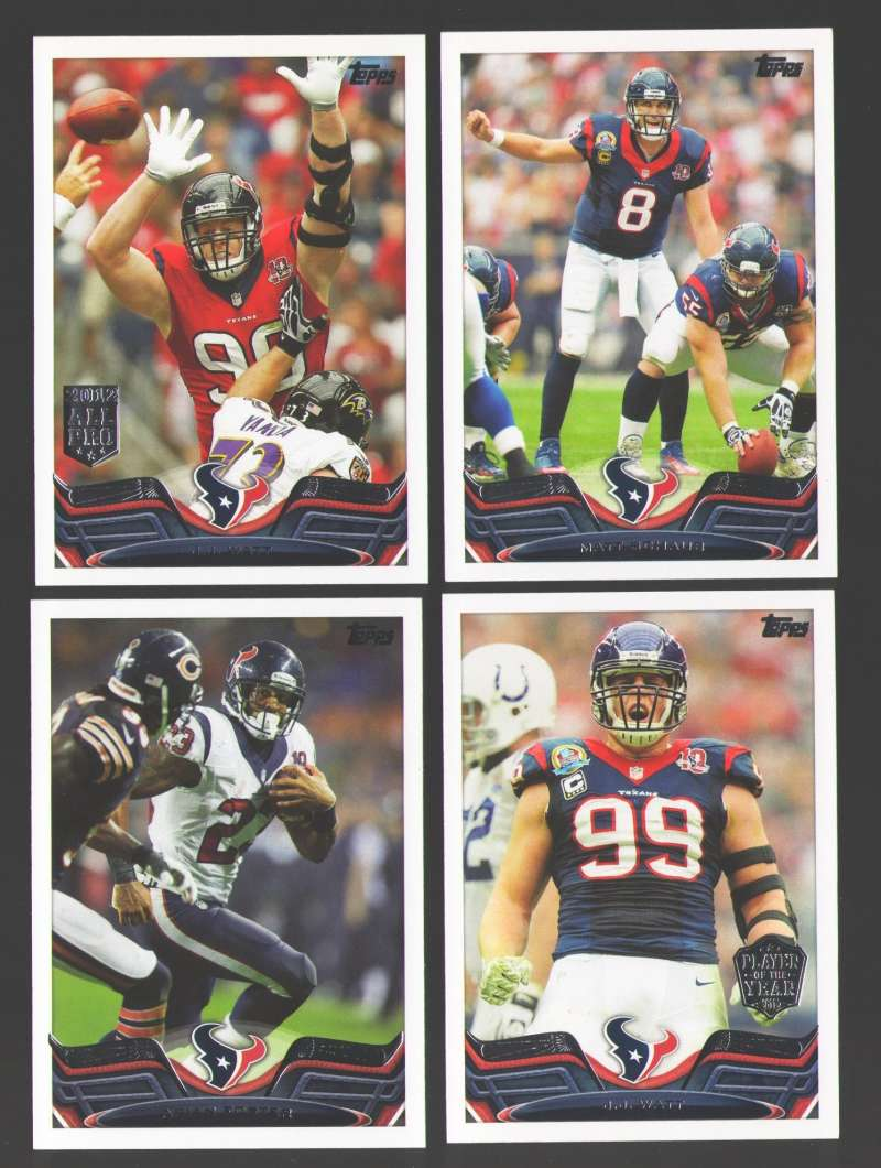 2013 Topps Mini Football Team Set - HOUSTON TEXANS