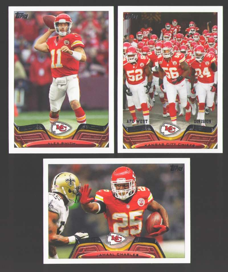 2013 Topps Mini Football Team Set - KANSAS CITY CHIEFS