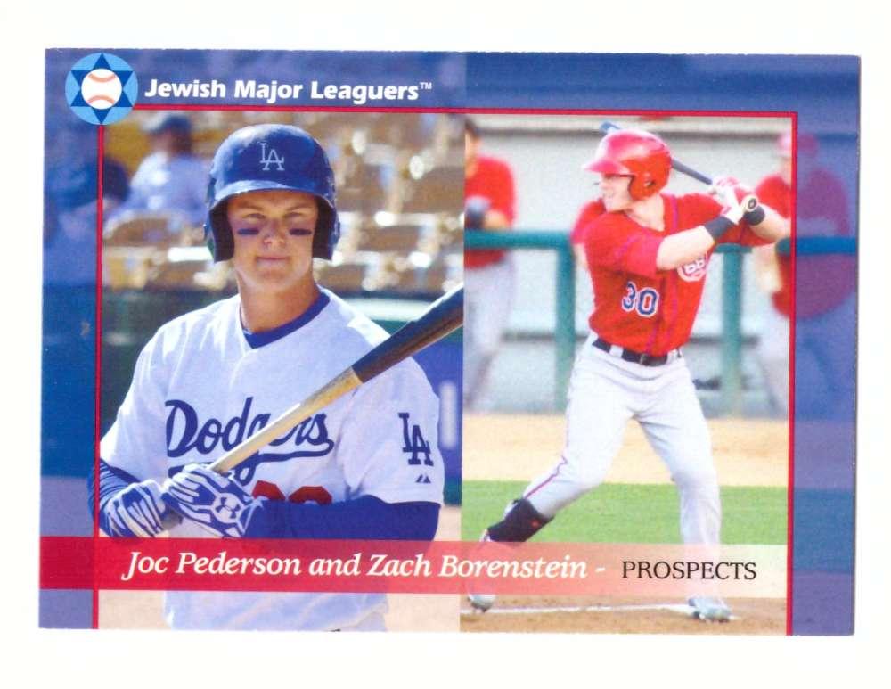 2014 Jewish Major Leaguers Update Edition 33 Joc Pederson & Zach Borenstein