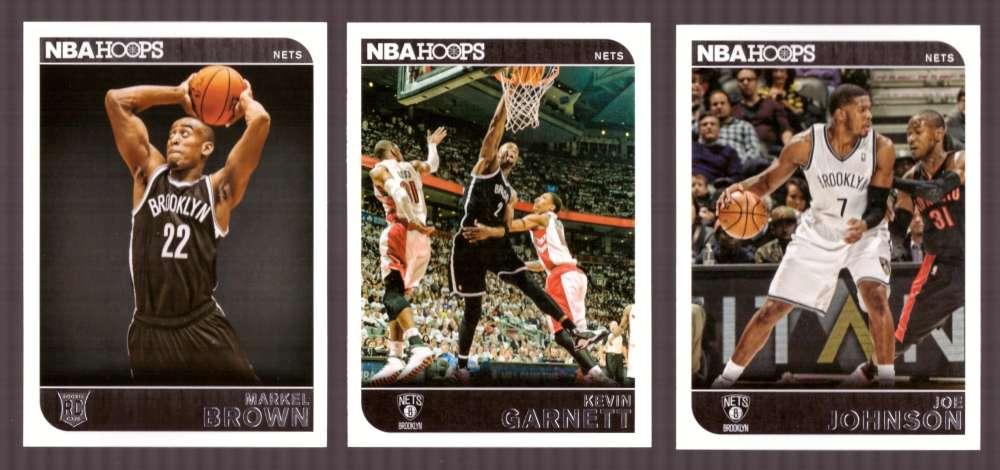 2014-15 NBA Hoops - Brooklyn Nets 10 Card Team Set