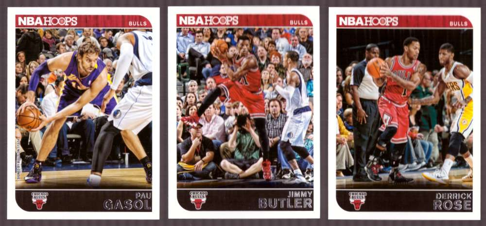 2014-15 NBA Hoops - Chicago Bulls 10 Card Team Set