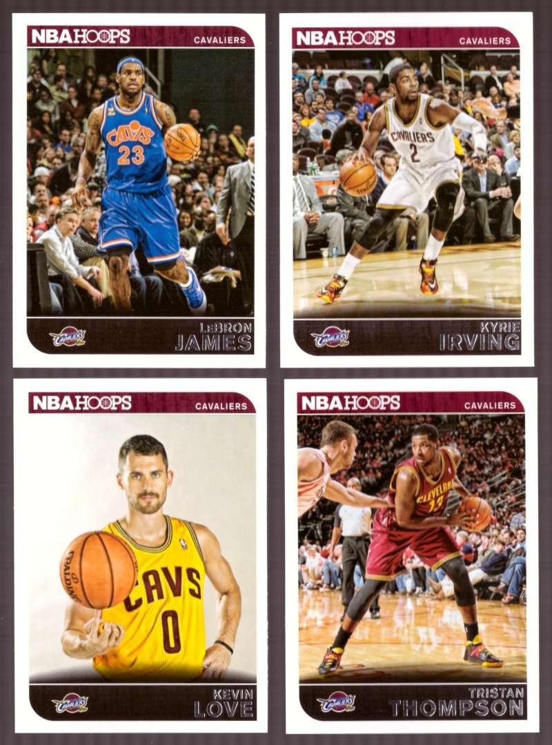 2014-15 NBA Hoops - Cleveland Cavaliers 9 Card Team Set