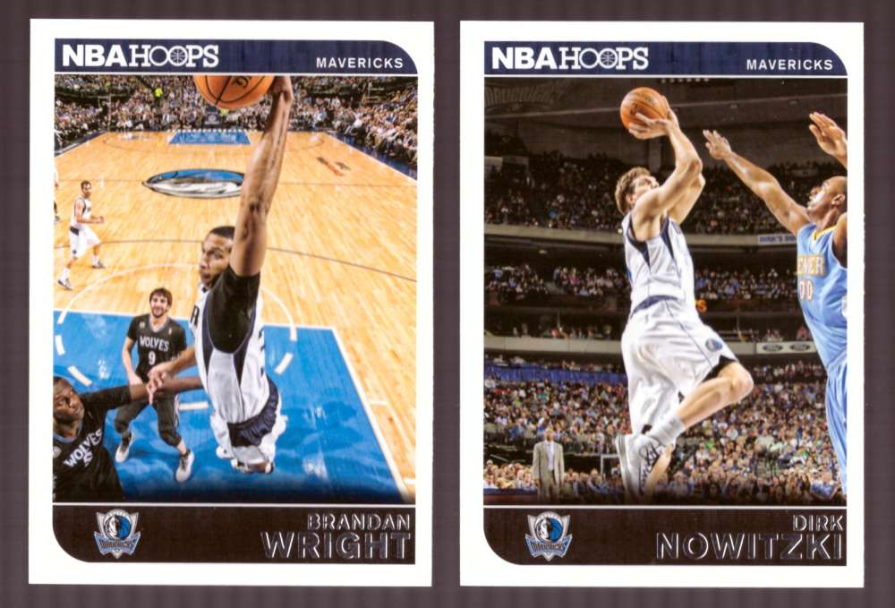 2014-15 NBA Hoops - Dallas Mavericks 11 Card Team Set