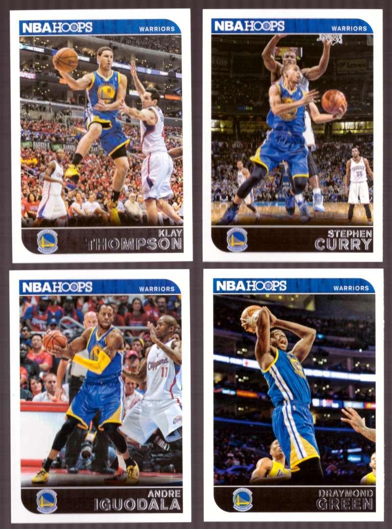 2014-15 NBA Hoops - Golden State Warriors 9 Card Team Set