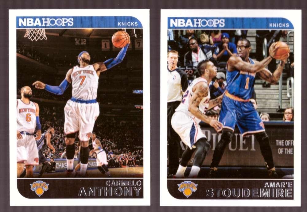2014-15 NBA Hoops - New York Knicks 12 Card Team Set