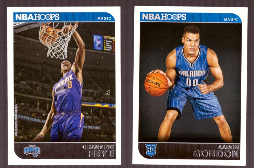 2014-15 NBA Hoops - Orlando Magic 9 Card Team Set