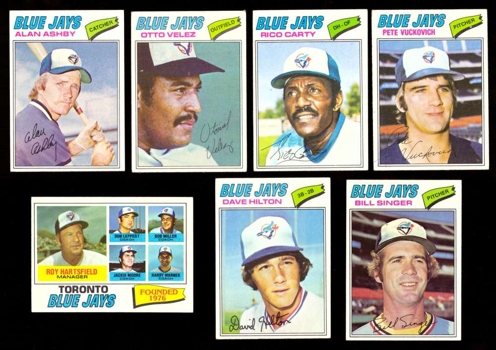 1977 Topps (D) - TORONTO BLUE JAYS Team Set