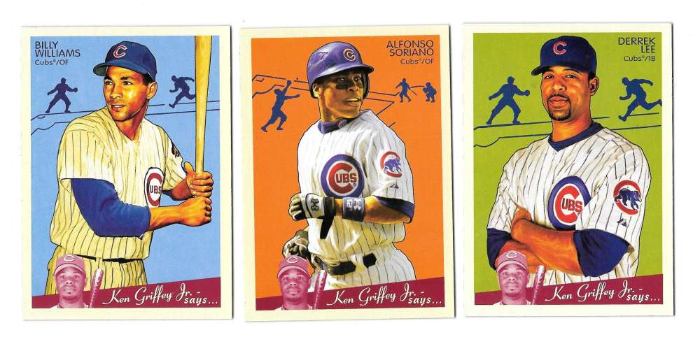 2008 Upper Deck Goudey (1-200) - CHICAGO CUBS Team Set