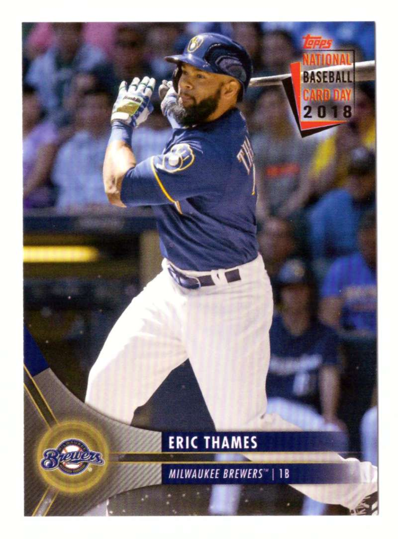 2018 Topps National Baseball Card Day - MILWAUKEE BREWERS
