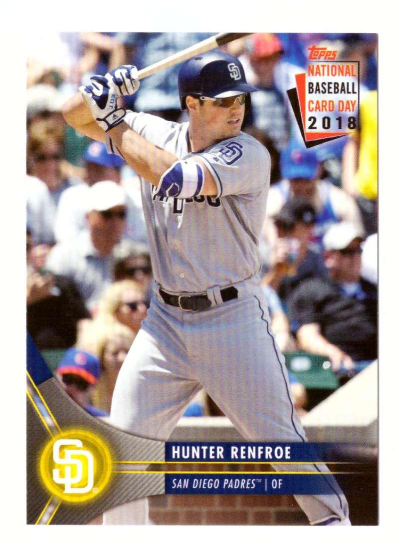 2018 Topps National Baseball Card Day - SAN DIEGO PADRES