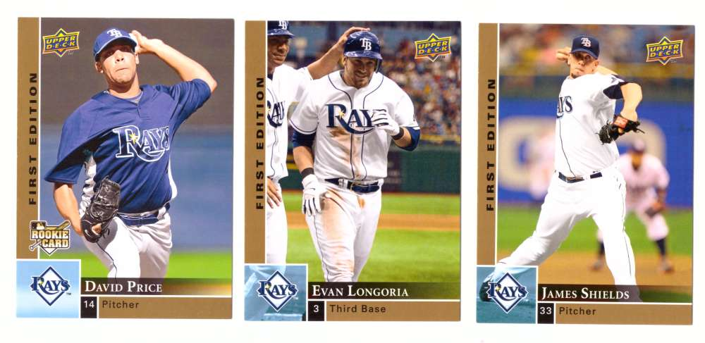 2009 Upper Deck First Edition - TAMPA BAY RAYS Team Set