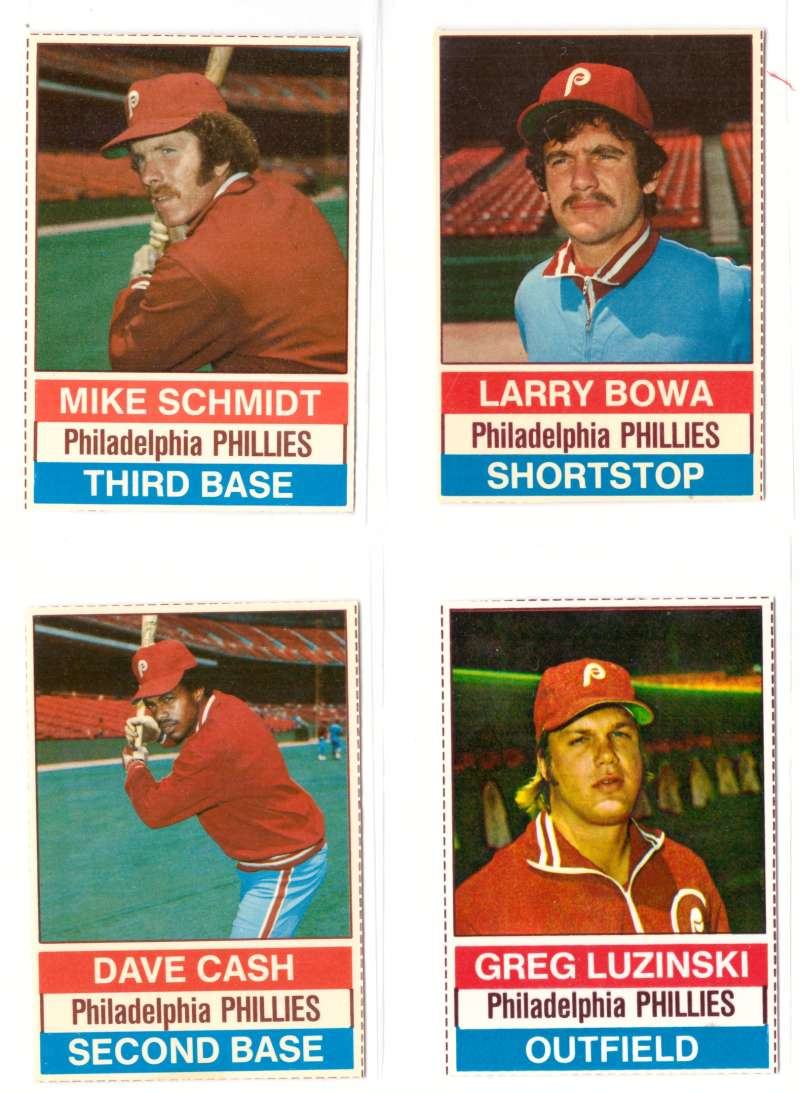 1976 Hostess - PHILADELPHIA PHILLIES Team Set (B)