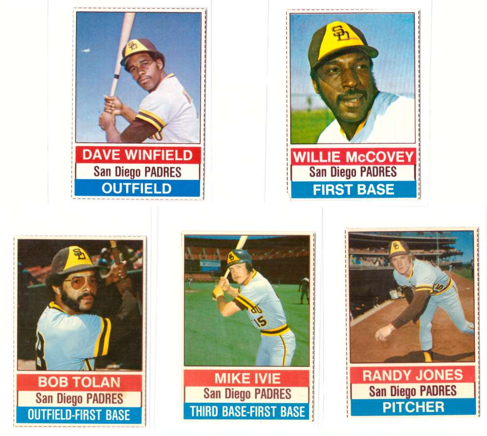 1976 Hostess - SAN DIEGO PADRES Team Set (B)