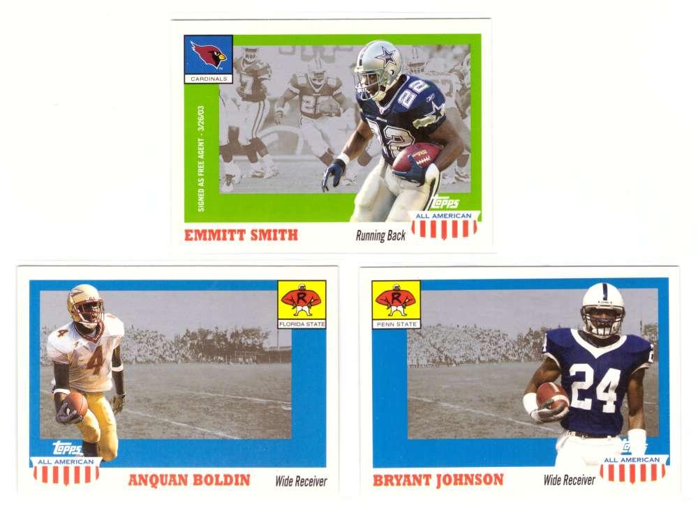 2003 Topps All American Football (w/SP's) - ARIZONA CARDINALS