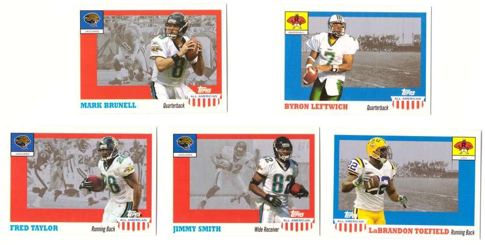 2003 Topps All American Football (w/SP's) - JACKSONVILLE JAGUARS