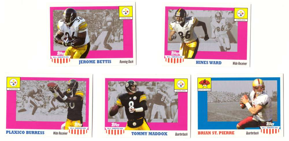 2003 Topps All American Football (w/SP's) - PITTSBURGH STEELERS