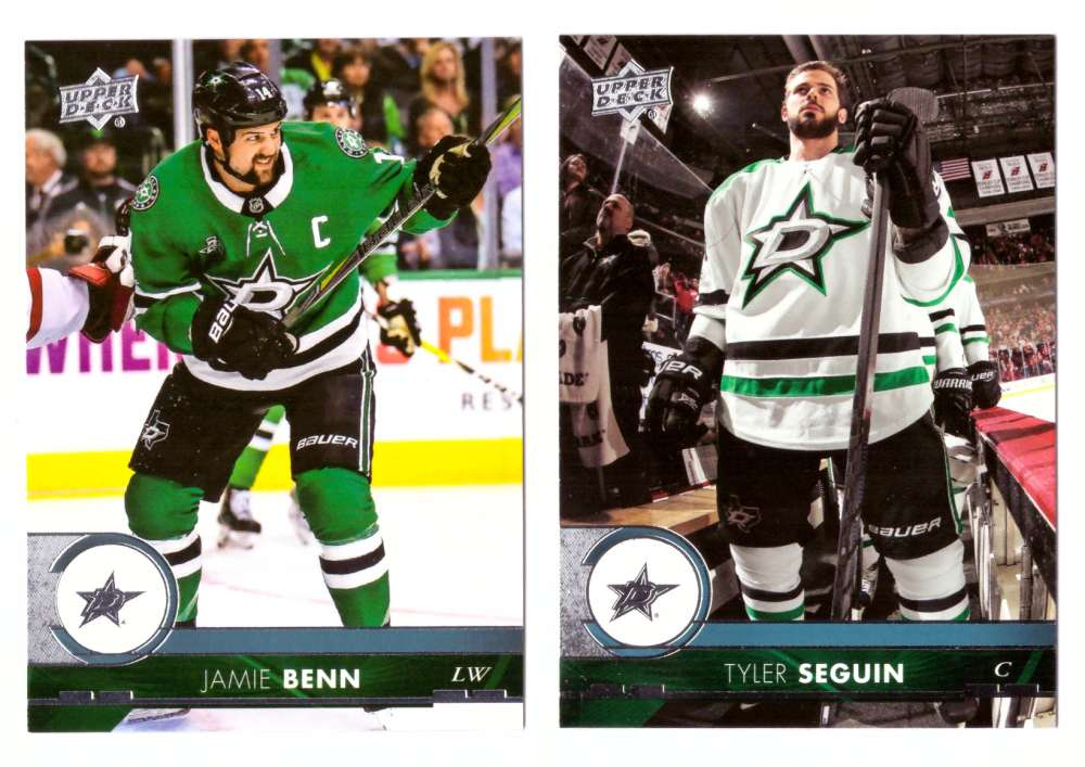 2017-18 Upper Deck Hockey (Base) Team Set - Dallas Stars