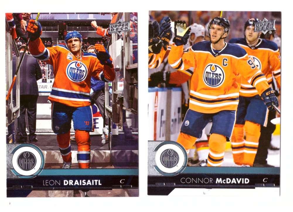 2017-18 Upper Deck Hockey (Base) Team Set - Edmonton Oilers