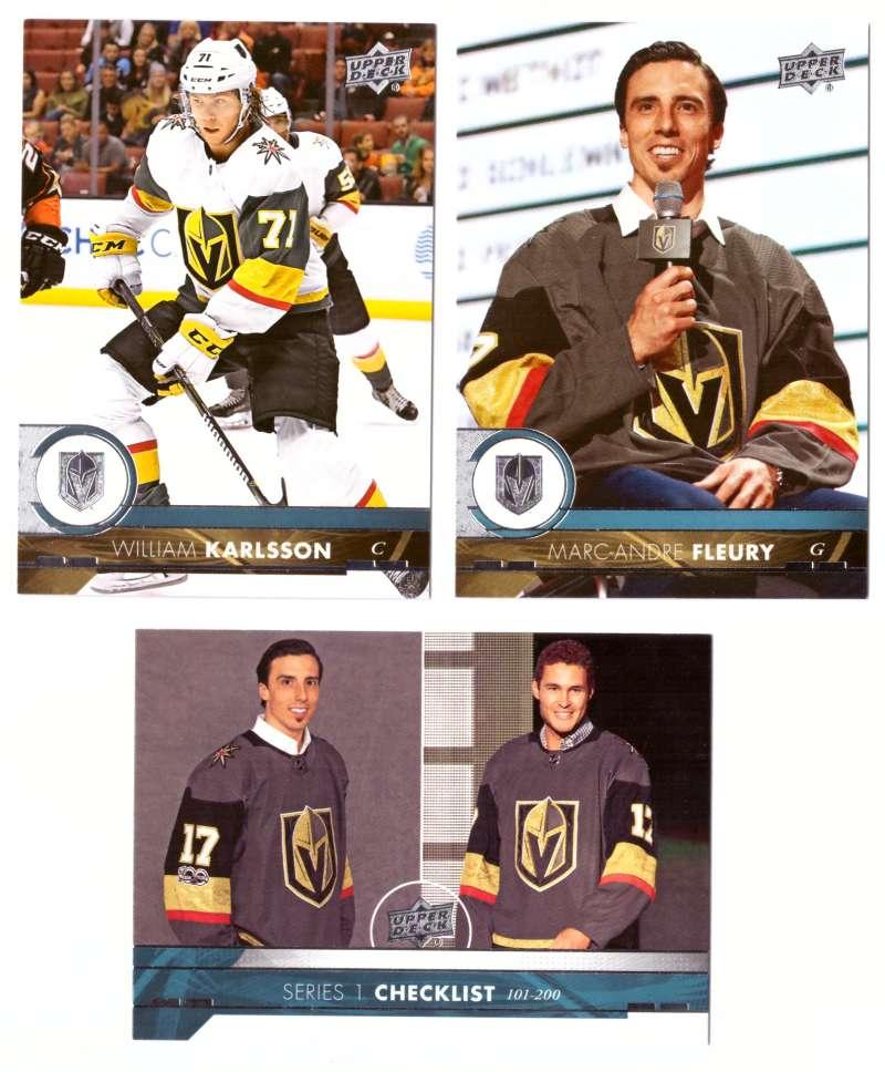 2017-18 Upper Deck Hockey (Base) Team Set - Las Vegas Golden Kights