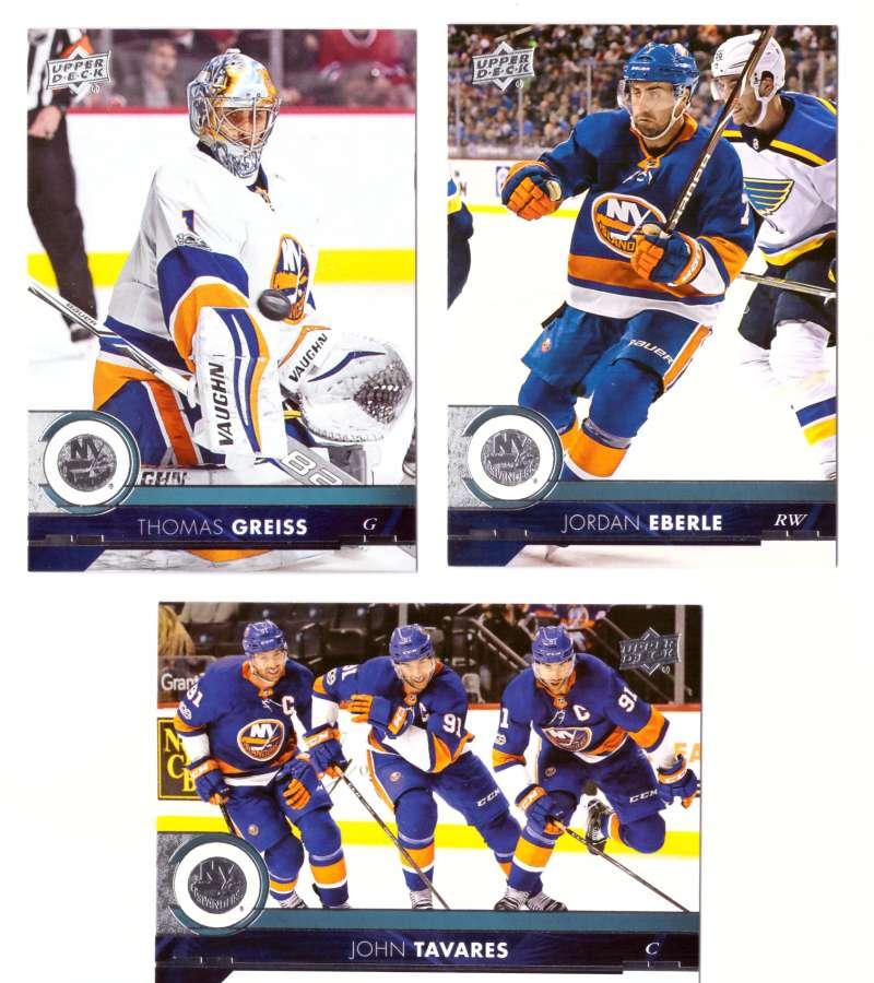 2017-18 Upper Deck Hockey (Base) Team Set - New York Islanders