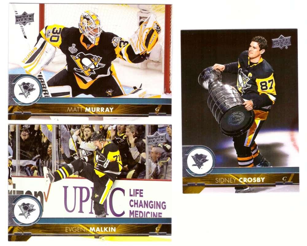 2017-18 Upper Deck Hockey (Base) Team Set - Pittsburgh Penguins