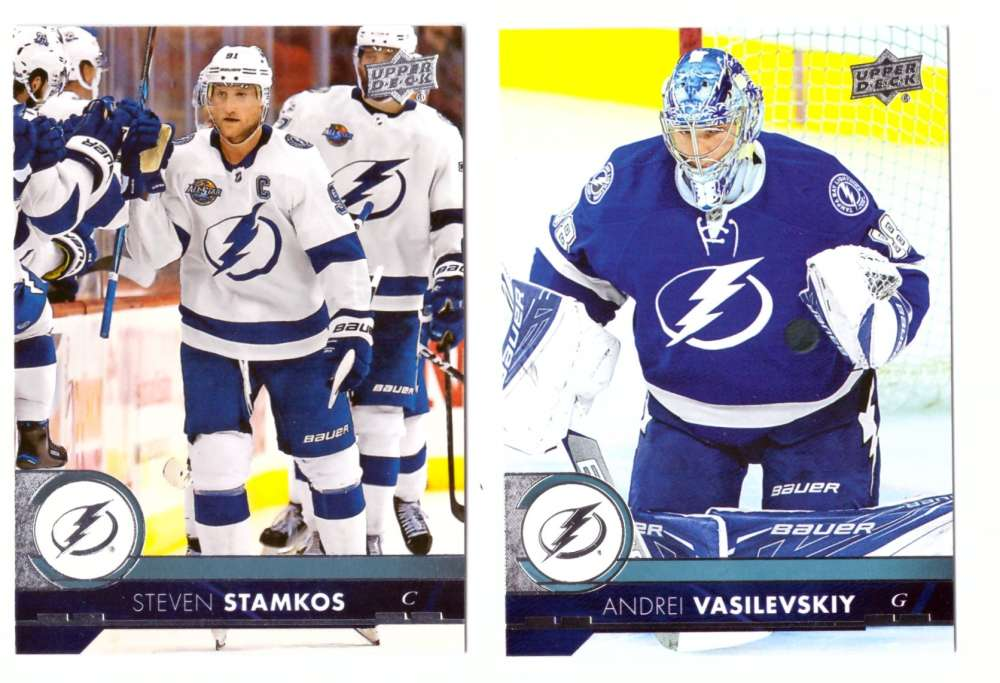 2017-18 Upper Deck Hockey (Base) Team Set - Tampa Bay Lightning
