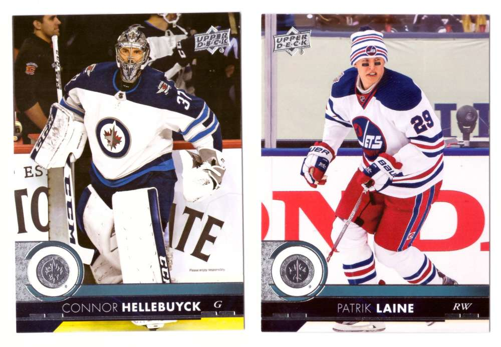 2017-18 Upper Deck Hockey (Base) Team Set - Winnipeg Jets