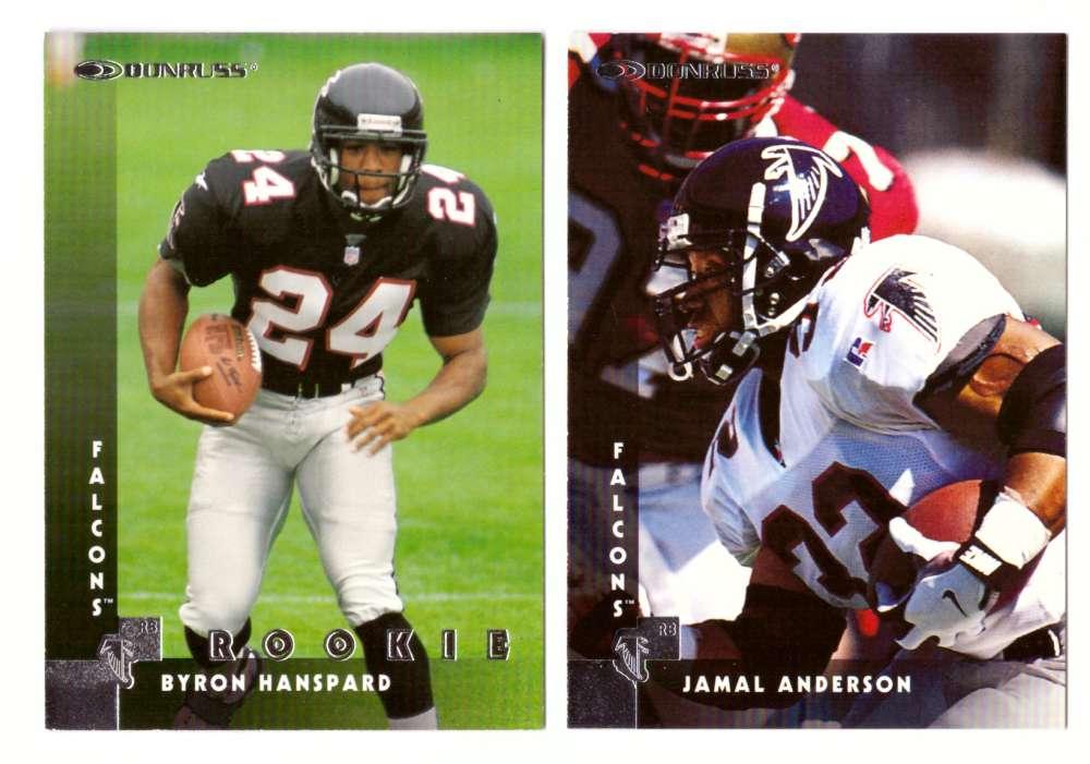 1997 Donruss Football Team Set - ATLANTA FALCONS