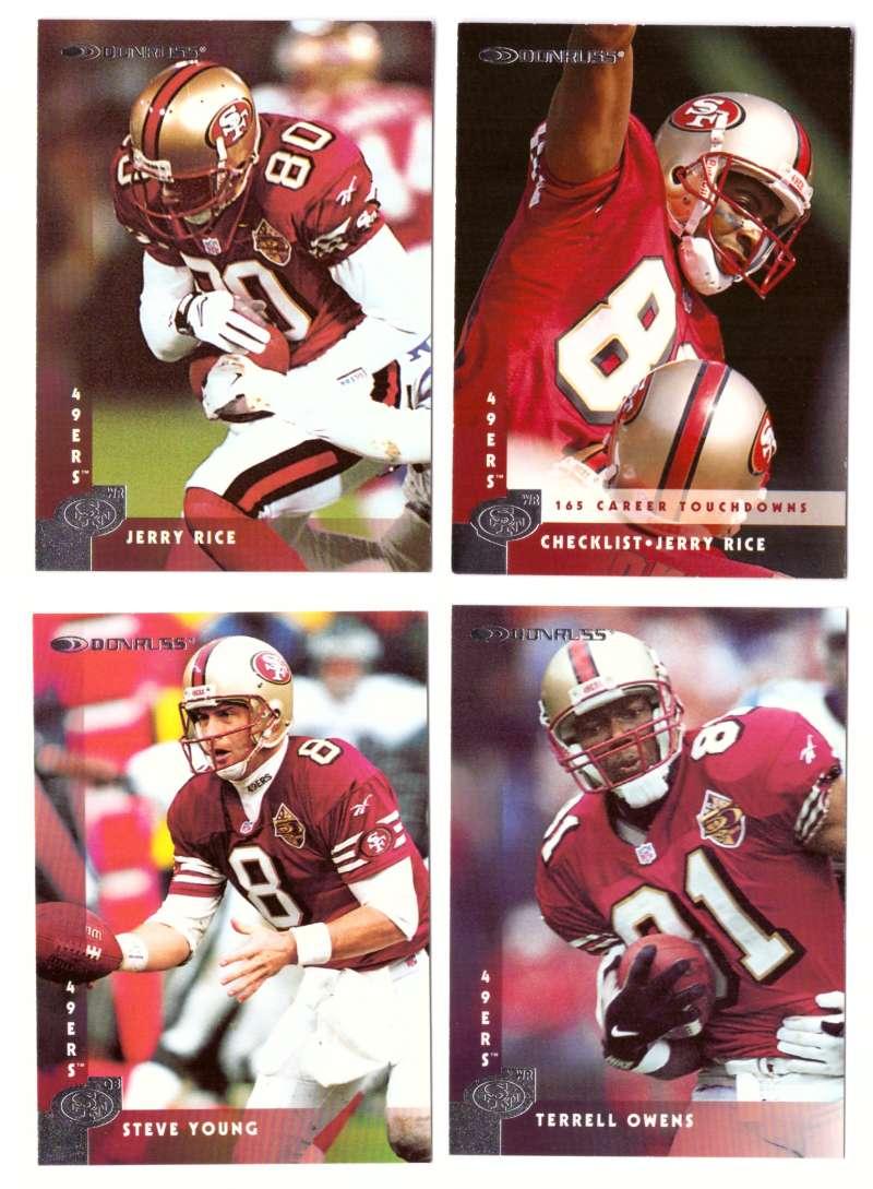 1997 Donruss Football Team Set - SAN FRANCISCO 49ERS