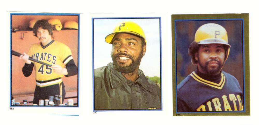 1983 Topps Stickers - PITTSBURGH PIRATES Team Set